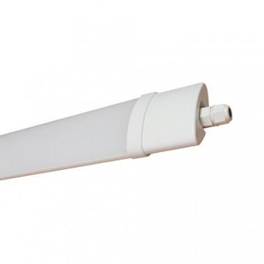 Réglette LED intégrée étanche 230V 36W 3300lm 120cm blanc