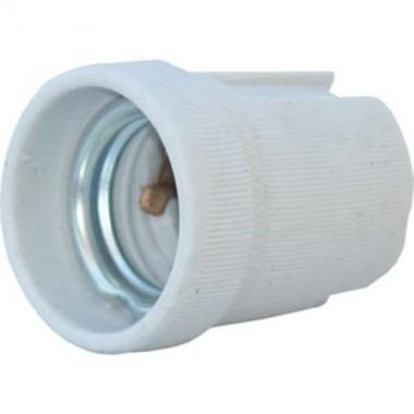 Douille porcelaine E27 à visser