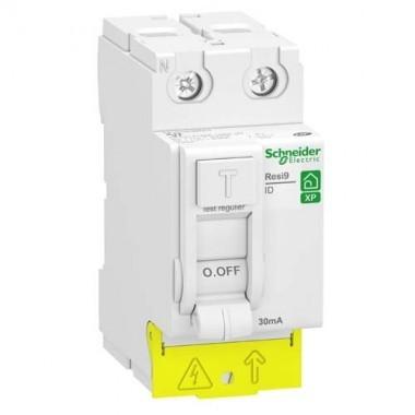 SCHNEIDER Resi9 XP Interrupteur différentiel 63A 30mA type AC auto 230V - R9PRC263