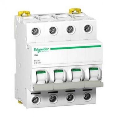 SCHNEIDER Interrupteur sectionneur 4P 63A 415VAC - A9S65463