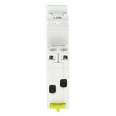 SCHNEIDER Resi9 XP Disjoncteur Ph+N courbe C 32A  3kA 230V - R9PFC632