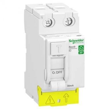 SCHNEIDER Resi9 XP Interrupteur différentiel 40A 30mA type AC 230V - R9PRC240