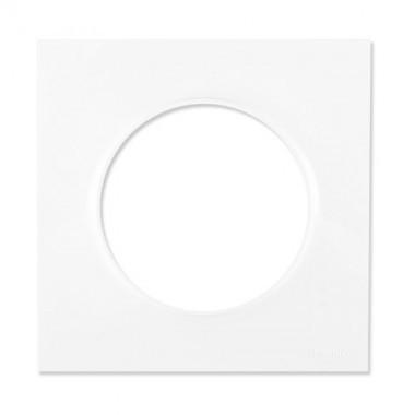 SCHNEIDER Odace Plaque simple blanche