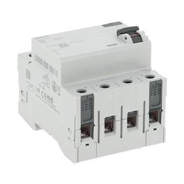SIEMENS Interrupteur différentiel tétrapolaire 4 modules 400V 63A 30mA type A