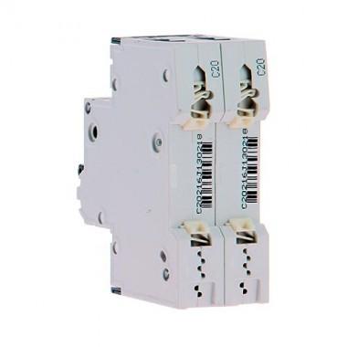 SIEMENS Disjoncteur electrique bipolaire 20A pour parafoudre