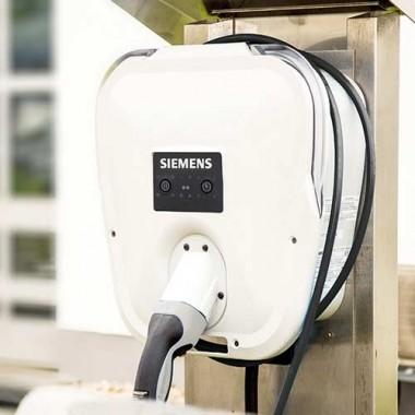 Wallbox borne de recharge voiture électrique SIEMENS type 2 monophasé 7,2kW