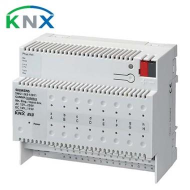 SIEMENS KNX Module 16 entrées binaires pour contacts AC/DC 12…230V