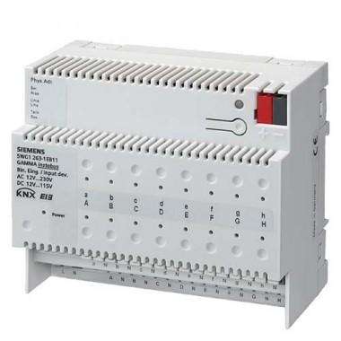 SIEMENS KNX Module 16 entrées binaires pour contacts AC/DC 12…230V - 2