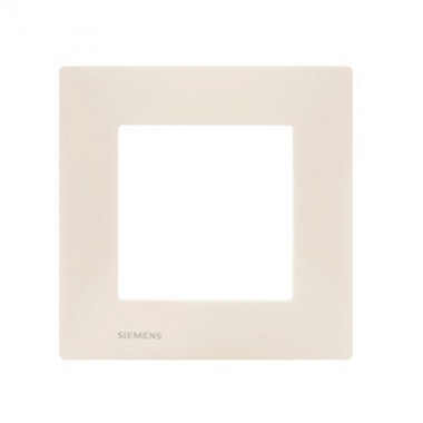 SIEMENS Delta Viva Plaque simple - Beige