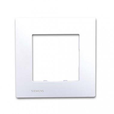 SIEMENS Delta Viva Plaque simple - Blanc