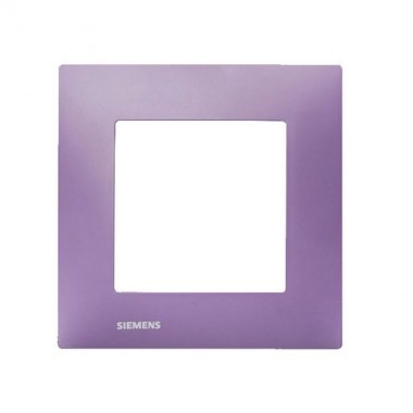 SIEMENS Delta Viva Plaque simple - Violet