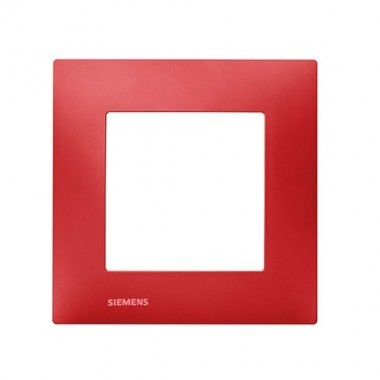 SIEMENS Delta Viva Plaque simple - Rouge