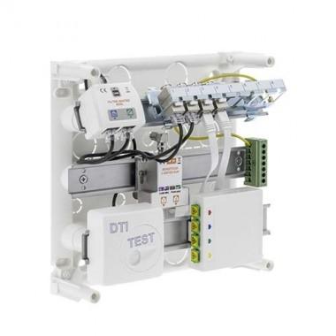 SIEMENS Coffret de communication  4RJ45  Grade 2TV avec DTIO