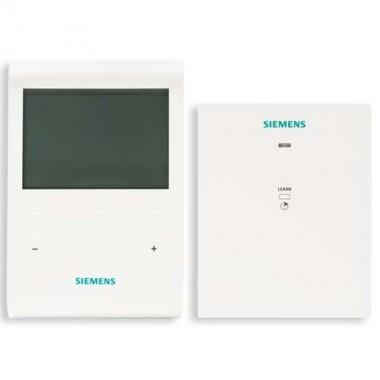 SIEMENS Thermostat d'ambiance tactile programmable 5+2 sans fil + 1 récepteur