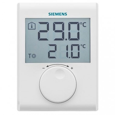 SIEMENS Thermostat d'ambiance digital non programmable