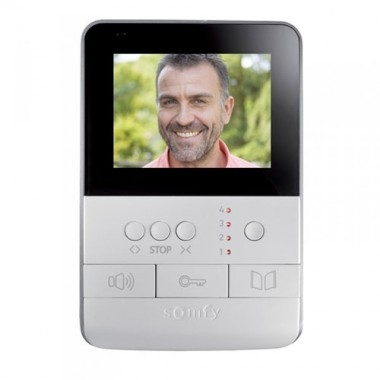 SOMFY RTS Visiophone V100 moniteur intérieur - 4
