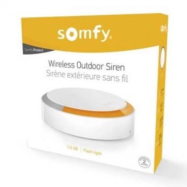 SOMFY Protect Sirène extérieure sans fil