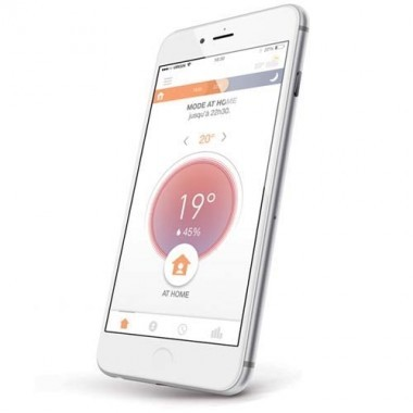 Thermostat Connecté Filaire SOMFY - 2401498