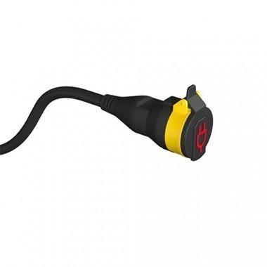 Rallonge électrique à clapet étanche STANLEY 20m H07RN-F 3G1,5 - 227357