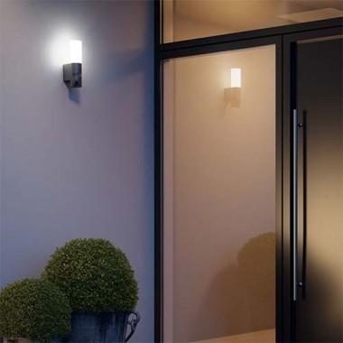 Caméra de surveillance L600 et Applique STEINEL LED extérieures 230V 14,3W 781lm 3000°K - 052997