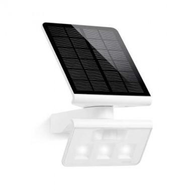 STEINEL Luminaire solaire LED extérieur à détecteur blanc Xsolar L