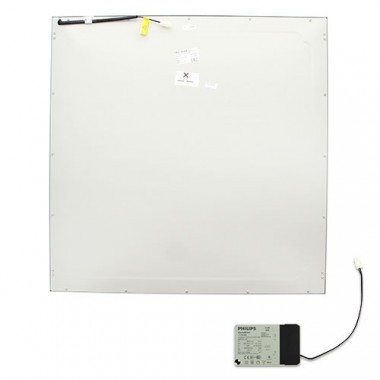 Dalle LED encastrable TEC MAR Leila Q3 36W 4400lm 4000°K 600x600mm blanc