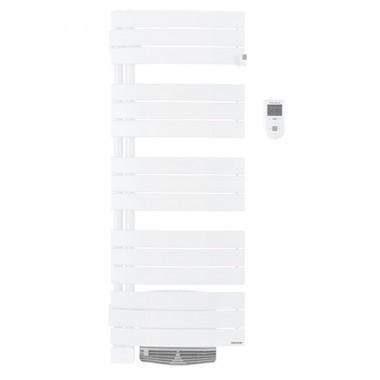 THERMOR Allure digital Sèche-serviettes 1750W Blanc satin pivotant à gauche avec soufflerie   - 490561