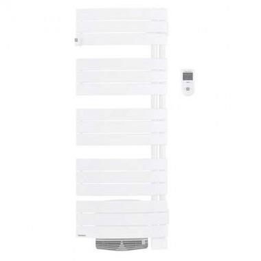 THERMOR Allure digital Sèche-serviettes Blanc satin pivotant à droite avec soufflerie 1750W - 490661