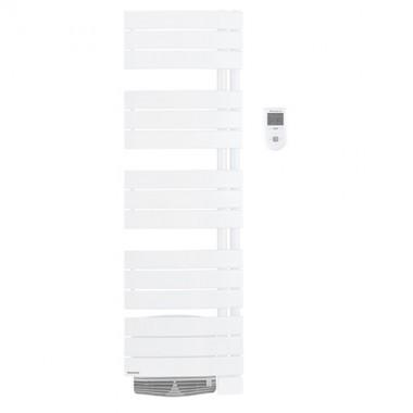 THERMOR Allure digital étroit Sèche-serviettes Blanc satin avec soufflerie 1500W - 490751
