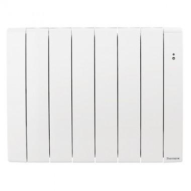 THERMOR Bilbao 3 Radiateur connecté à inertie fluide horizontal blanc 1000W - 493831