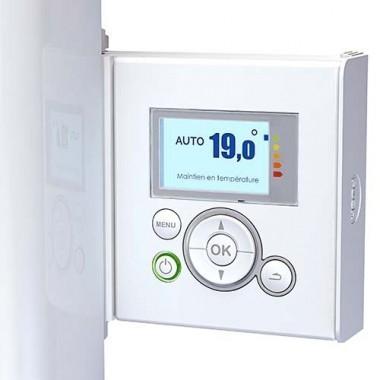 THERMOR Bilbao 3 Radiateur connecté à inertie fluide 1500W vertical blanc - 494851