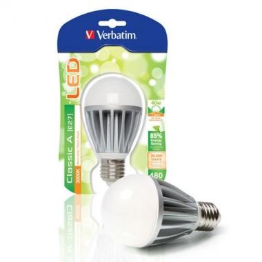 VERBATIM Ampoule LED à vis E27 7.3W 480lm 230V - 3