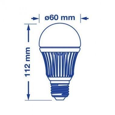 VERBATIM Lot de 4 - Ampoule LED E27 230V 7.3W(=40W) 480lm 3000°K