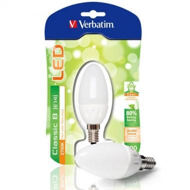 VERBATIM Ampoule LED à vis E14 3.8W 200lm 230V - 3