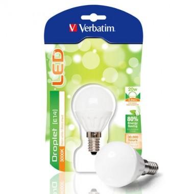 VERBATIM Ampoule LED à vis E14 4W 210lm 230V - 3