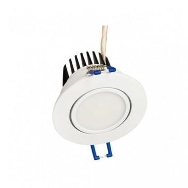 VISION-EL Spot LED encastrable et orientable 230V 5W 420lm 3000°K blanc