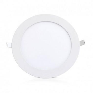 VISION EL Plafonnier LED rond blanc 18W diamètre 235 mm