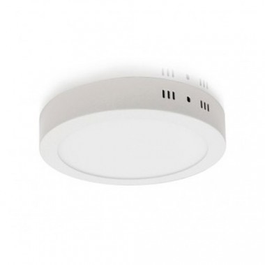 VISION-EL luminaire intérieur LED 230V 18W 1440lm 4000°K 220mm blanc - 7788