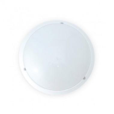 VISION-EL Hublot extérieur LED à détection 230V 18W 1600lm 4500°K 300mm blanc - 7790