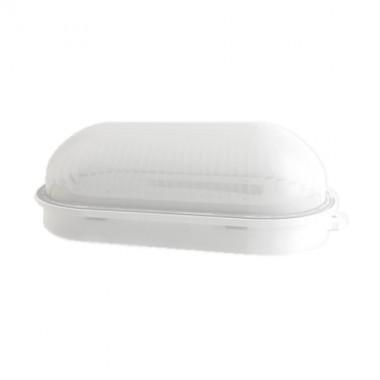 VISION-EL Hublot extérieur LED 230V 12W 1050lm 4000°K 210x105mm blanc - 77910