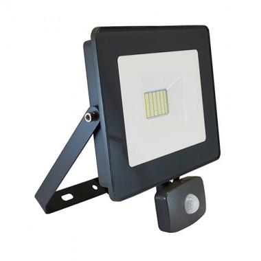 VISION-EL Projecteur extérieur LED extra plat à détection 230V 30W 2640lm anthracite - 80322