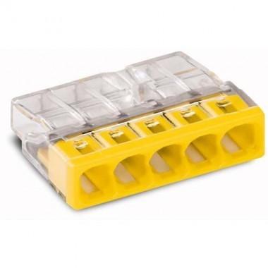 WAGO Sachet de 10 mini-bornes de connexion 5 fils S2273 - 3