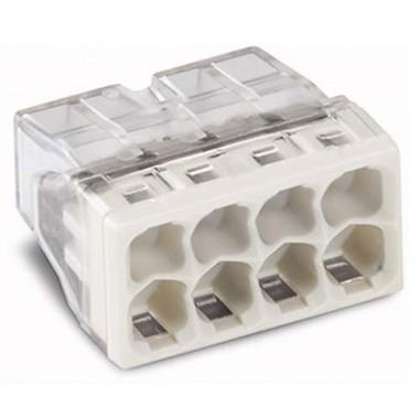WAGO Pot de 50 mini-bornes de connexion 8 fils S2273 - 3