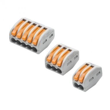WAGO Valisette 50 bornes de connexion automatique S222 pour fils souples et rigides - 3