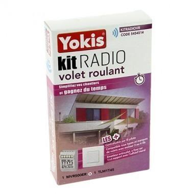 kit radio volet roulant yokis 1 micro module et 1. Black Bedroom Furniture Sets. Home Design Ideas