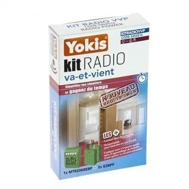 kit radio variateur va et vient yokis power kitradiovvp. Black Bedroom Furniture Sets. Home Design Ideas