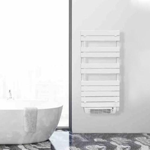 Delonghi Lio Sèche Serviettes Blanc Programmable Avec Soufflerie 1600w 278432