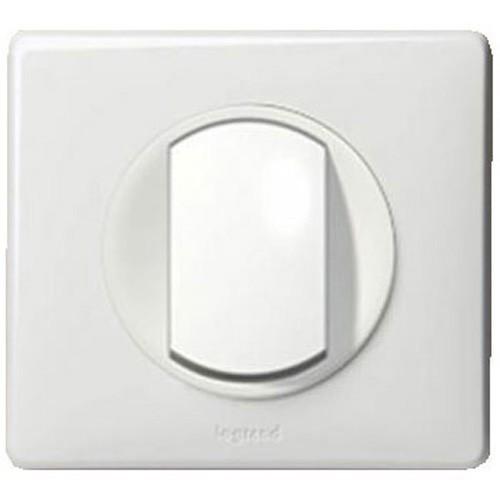 bouton poussoir legrand c liane complet blanc. Black Bedroom Furniture Sets. Home Design Ideas