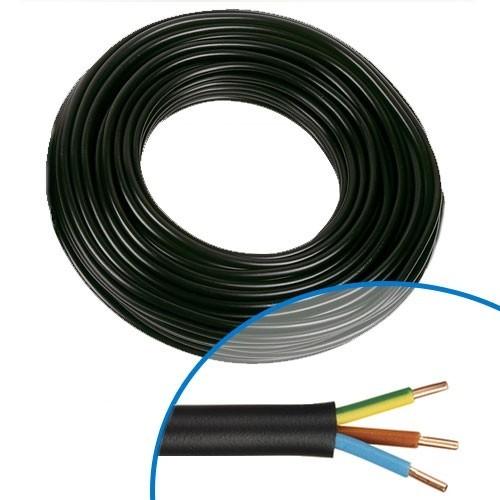 Captivant Câble électrique RO2V 3G 2.5²   Couronne De 50m ... Galerie De Photos
