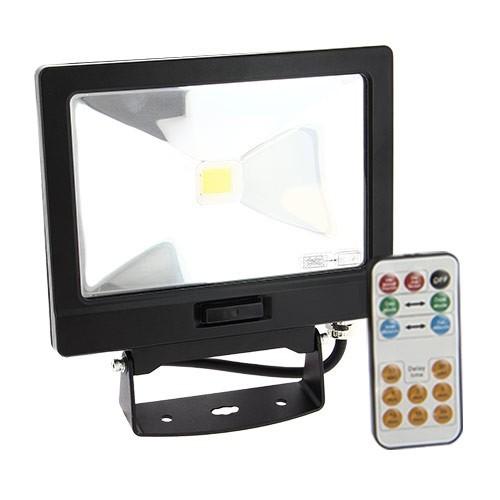 Projecteur Extérieur LED Extra Plat 30W à Détection Avec Télecommande  Marche Forcée ...